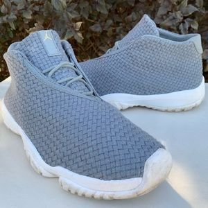 "Nike Air Jordan Future ""Cool Grey"" Shoes Size 8"